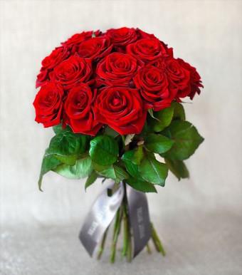 """Моно-букет из роз """"Лондон"""""""