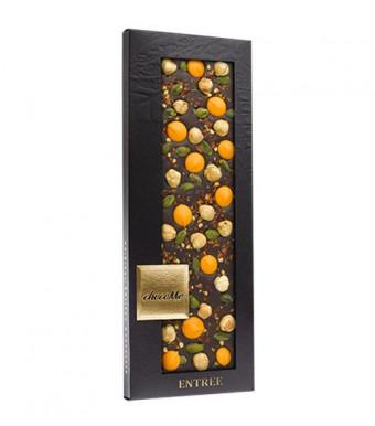 ChocoMe Горький шоколад с апельсиновыми каплями и перцем чили