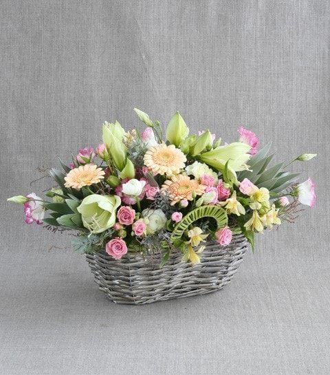 Композиция цветов для Козерога